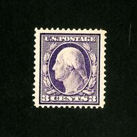 US Stamps # 333 XF OG VLH Large Stamp