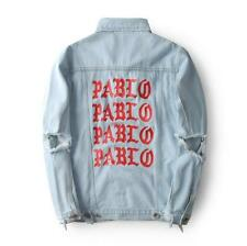 OVERSIZE Kanye West Denim I Feel Like Pablo Jean Yeezy Yeezus Coats Jackets