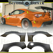 2013 2014 2015 2016 2017 Scion FRS FR-S 86 8 Pc Fender Flares GR Style Body Kit