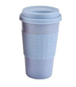 Reusable Plastic coffee Cups Portable Coffee Tea Mugs Travel Mug With Lid 300ml