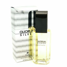 Quorum Silver by Antonio Puig for Men Eau De Toilette Spray 1.7oz