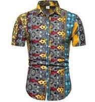 Fashion Short Sleeve Men Summer Cotton T Shirt Shirts printing Tops Blouse