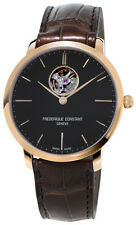 Frederique Constant Slimline Automatic Heart Beat Mens Watch FC-312G4S4