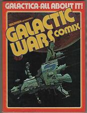 warren presents # 4 GALACTIC WARS COMIX 1978 inside Battlestar Galactica dossier