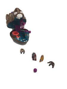 TMNT Mini Mutants Bebop Playset With Figures Rare Micro Incomplete Vtg 90's