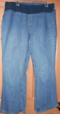 "MOTHERHOOD MATERNITY JEANS SZ XL 29"" INSEAM Cotton"