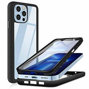 "Apple iPhone 13 Pro Max 6.7"" 360 Full Body Phone Case Heavy Duty Anti-Slip Cover"