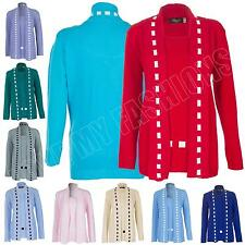 Unbranded Women's Medium Knit Waist Length Jumpers & Cardigans