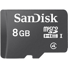 SanDisk 8GB Micro SD Card SDHC Class 4 (10 pack)