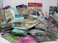 HUGE Lot 40pk Jolee's Sticko K&Company Stickers & Scrapbooking embellishments
