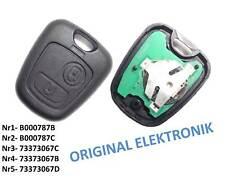 Original Peugeot Citroen Funkschlüssel Schlüssel 433 MHz 107 206 307 C1 Xsara
