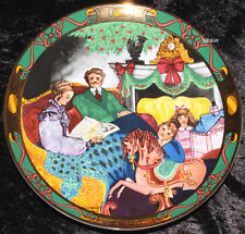 "1995 ROYAL COPENHAGEN WEIHNACHTSTELLER ""CHRISTMAS IN DENMARK"" 1. WAHL OVP TOP"