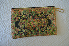Tapestry Clutch Vintage Style Envelop Bag Zippered - Free Worlwide Shipping!!