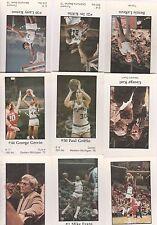 SAN ANTONIO SPURS 1979/80 SET HANDY DAN SET(15)-GERVIN, KENON,ETC