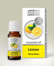 Lemon oil Citrus limon Eterika 100% Pure Essential Oil 10 ml