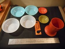 Lot of vintage Tupperware bowls , cup and tool