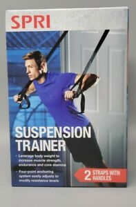 New   SPRI   Suspension Trainer   Home Workout Exercise