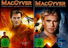 MacGyver - Die komplette 4. + 5. Staffel (Richard Dean Anderson)       DVD   505