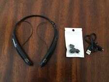 LG Tone Pro HBS-770 In-Ear Bluetooth Wireless Headphones Headset - Black GENUINE