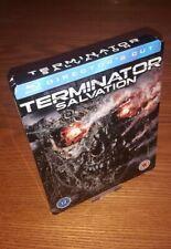 TERMINATOR: SALVATION Blu-ray steelbook rare OOP UK Play.com region b free abc
