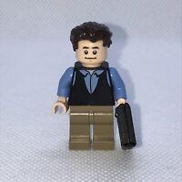 LEGO Chandler Bing Minifigure FRIENDS TV CENTRAL PERK idea058 from 21319 Genuine