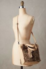 Anthropologie Plateau Faux Fur Tote Bag Miss Albright New MSRP: $148 NWT