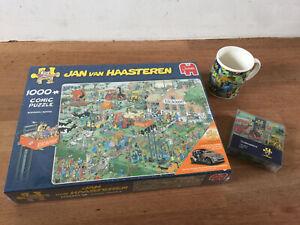 RARE Jan Van Haasteren Puzzle SPECIAL ED. Golden Piece Car Winner Farmer 1000pc