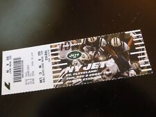 NY Jets vs Cleveland Browns 2007 Football Ticket Stub Giants Stadium NJ