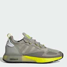 Adidas ZX 2K Boost Gray All Size Authentic Men's Originals - FY2002 Expedited