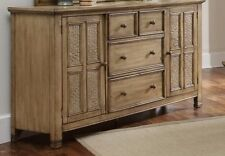 Kingston Isle 4 Drawer Dresser Bedroom Furniture Cabinet Sofa Console Table