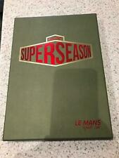 WEC Superseason Le Mans set of A4 Event posters signed Limited Ed very rare