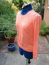 BNWT Gap ladies, size XS (size 8-10) orange and white fleck cotton sweater