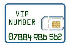 VIP gold memorable EASY NUMBER sim card 07884 986 562. Lebara Mobile