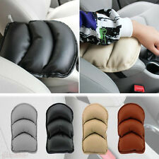 Auto Bracciolo Console Pelle Pastiglie Custodia Cuscino Supporto Box Bracciolo