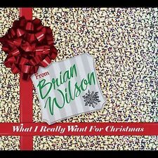 What I Really Want for Christmas- Brian WIlson-  ©2005  - Used VG- Christmas CD