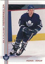 2000/1 BAP Memorabilia Fall Expo Adam Mair 10/10 Maple Leafs