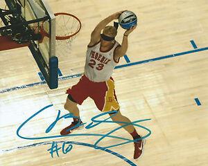 Chase Budinger MN Minnesota Timberwolves Signed 8x10 Photo C6 COA GFA
