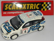 SCALEXTRIC SPAIN ALTAYA RALLY PRO FORD FOCUS WRC MONTECARLO 2003 LTED.ED. MINT