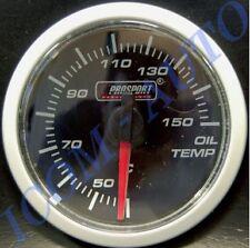 MANOMETRE TEMPERATURE D HUILE PRO-SPORT ECLAIRAGE LED 2 COULEURS 52MM