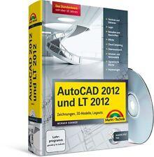AutoCAD 2012 und LT 2012 Kompendium, 1150 Seiten mit 2 CDs, NEU