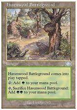 *MRM* ENG havenwood battleground (champ de bataille d'havrebois)MTG 6th edition