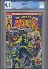 Nova #6 CGC 9.6 1977 Marvel Comics 1st App Sphinx & Megaman