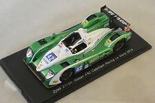 Spark S4221 - ZYTEK Z11SN Nissan Caterham Racing n°42 25ème Le Mans 2014   1/43