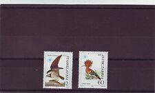 YUGOSLAVIA - SG2202-2203 MNH 1985 NATURE PROTECTION - BIRDS