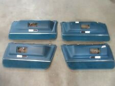 1971 Cadillac Sedan Deville 4 door hardtop interior lower door panel upholstery