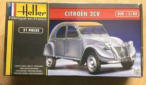 Heller 80175 1:43rd scale Citroen 2CV In Sealed Pack Uk Freepost