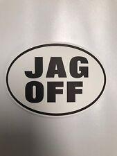 JAGOFF PITTSBURGH PITTSBURGHESE STICKER 412 PITT RARE!! JAG OFF