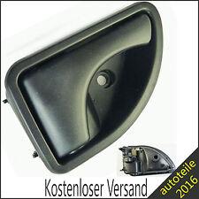 NEU TÜRGRIFF INNEN Rechts Vorne schwarz Für RENAULT KANGOO TWINGO 8200259377