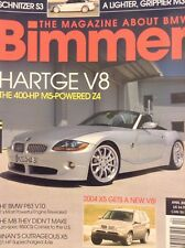 Bimmer BMW Magazine Hartge V8 M5 Powered Z4 April 2004 020718nonrh