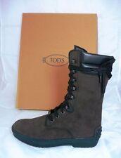 Tods Tod´s Stiefeletten Gr 36,5 Stiefel Booties Schuhe Shoes braun neu UVP 425 €